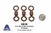 Rosco 12/0 Swivels -  ED Coated™ Tru-Sand™  (3-pack)