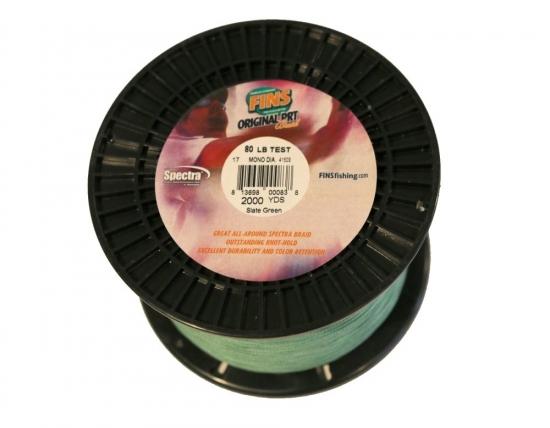 FINS PRT Spectra 100lb 2000yd Spool (Green)