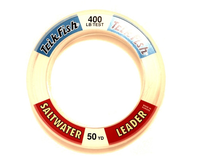 Trik Fish Saltwater Wrist Leader Spool 400lb - 50yds Clear