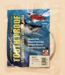 American Fishing Wire  #14  218lb Stainless Steel Leader Wire 1/4lb