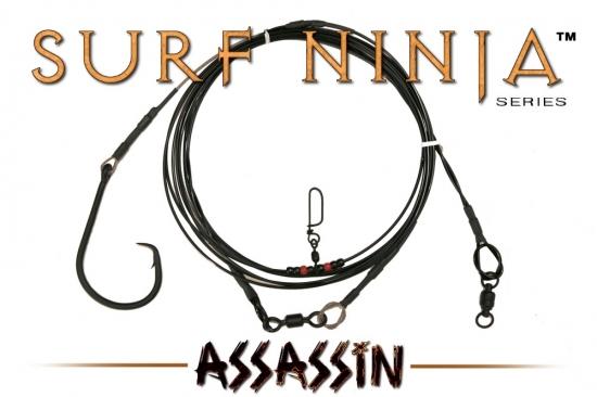 Surf Ninja™ (Assassin Edition) 26' Fixed 24/0 Shark Leader