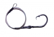 20/0 CA (ED) Circle Hook Drop - 4'  non-offset  ME Black