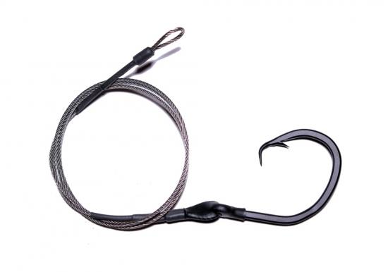 20/0 (ED) Circle Hook Drop - 4'  Offset