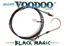 Shark Voodoo™ (Black Magic Edition) 28' Voodoo-Glow™ Shark Leader