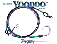 Shark Voodoo™ (Pygmy Edition) 18' Fixed 20/0 Voodoo-Glow™ Shark Leader
