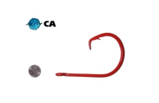 CA 24/0 ED Coated (BBR Red) Circle Hook - 3 Pack