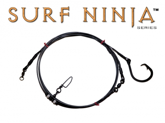 Surf Ninja™ Series  10' Blackout Casting Shark Leader