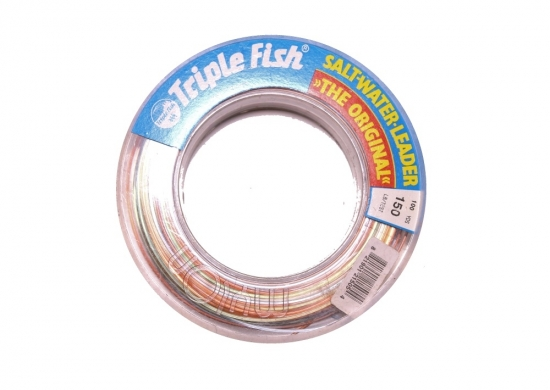 Trik Fish Saltwater Leader Spool 150lb - 100yds Camo-Color
