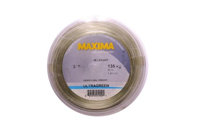 Maxima fishing line big game leader wheel 300lb 55yd for Maxima fishing line
