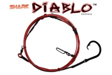 Shark Diablo™ Series  10' Casting Shark Leader - 18/0 with 600lb Coated Cable