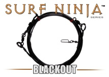 Surf Ninja™ (Blackout Edition) 30' Precision Shark Leader