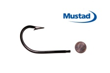 Mustad 12/0 7731AD Hook (ED Coated™ - ME™ Black) Set of 2 Hooks