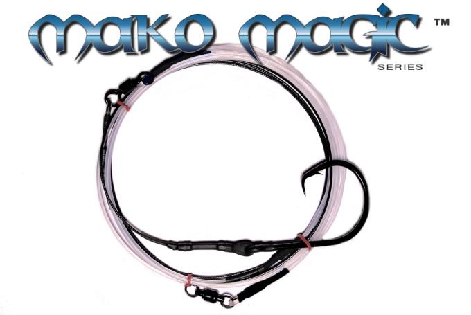 Mako-Magic™ Offshore Precision Shark Leader (24/0 ED ME - Mako Eye Black™)