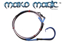 Mako-Magic™ Offshore Precision Shark Leader (24/0 ED OWB - Open Water Blue)