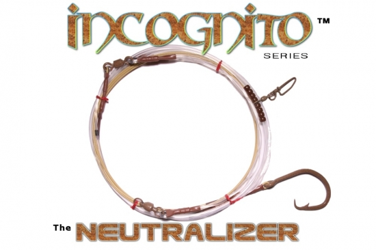 Incognito Series (Neutralizer™ Edition) 20' All-Around Shark Leader - 20/0 Tru-Sand™