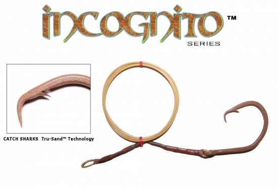 20/0 Non-Offset Circle Hook Drop - Incognito Edition with Tru-Sand™ Technology - 5'