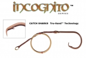 24/0 Non-Offset Circle Hook Drop - Incognito Edition with Tru-Sand™ Technology - 5'