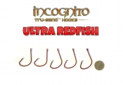 Catch Sharks ULTRA REDFISH 8/0 Hooks - ED Coated™ 5 Pack (Tru-Sand™)