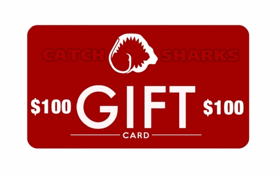Catch Sharks Online Gift Card - $100