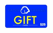 Catch Sharks Online Gift Card - $25