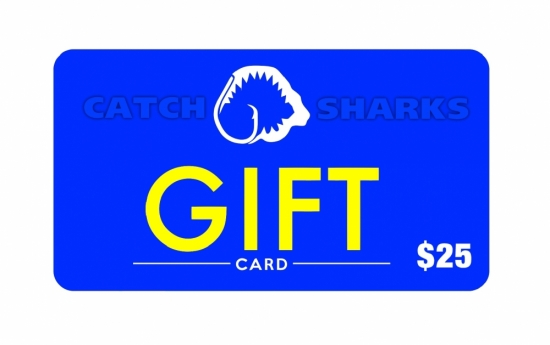 Catch Sharks Online Gift Card - $25