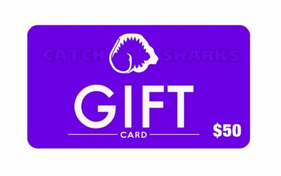 Catch Sharks Online Gift Card - $50