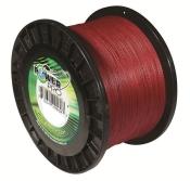 Power Pro Spectra Braid - 250lb 3000yds Bulk Spool  (Vermillion Red)