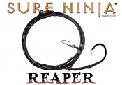 Surf Ninja™ (Reaper Edition) Blackout 20' Fixed 20/0 Shark Leader