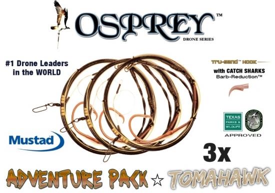Adventure Pack - Osprey™ Drone Series - Tomahawk - 3X (20/0 Hammertime Tru-Sand™ 20'  v2.0)