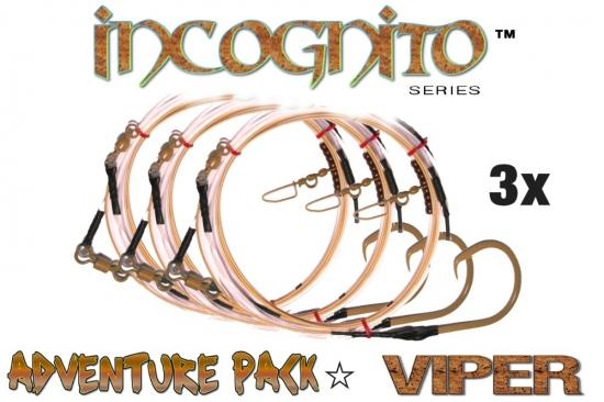 Adventure Pack -  Incognito Series™ (Viper Edition™) 3X (28' Fixed 24/0 Tru-Sand™)