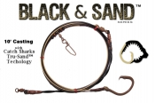Black & Sand™ Series  10' Med/Heavy Casting Shark Leader - 18/0 TS™