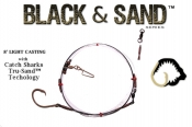 Black & Sand™ Series  8' Light Casting Shark Leader - 13/0 TS™