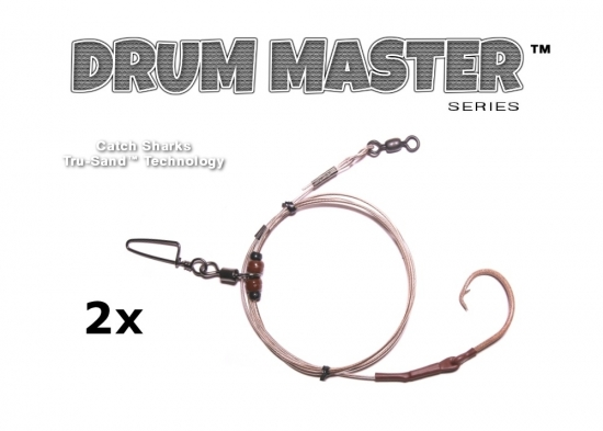 Drum Master Precision Leaders - TS (Tru-Sand™) - 2 Pack (Inline)