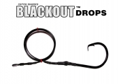 24/0 (ED coated ME™ Black) Circle Hook BLACKOUT Drop - 5'