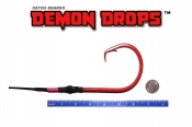 24/0 High Carbon Circle Demon Drop ED Coated (BBR Red) - 5'