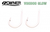Owner Jobu 12/0 Big Game Hook ED Coated™ 2 Pack - Voodoo Glow ED Coating