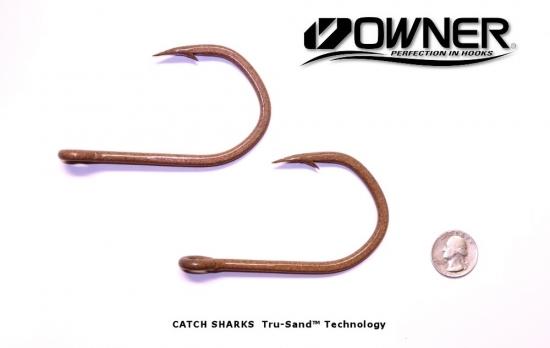 Owner Jobu 12/0 Big Game Hook ED Coated™ 2 Pack - Tru-Sand ED Coating