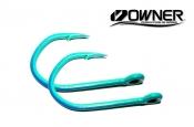 Owner Jobu 12/0 Big Game Hook ED Coated™ 2 Pack - Lit Mahi  ED Coating