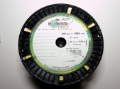 Power Pro Spectra Braid - 200lb 1500yds Bulk Spool  (Yellow)