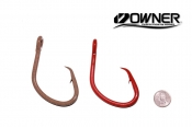 Owner American Super Mutu 14/0 Circle Hook ED Coated™ 2 Pack